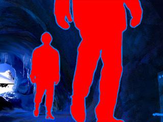 lavamen enter cave